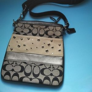 2/$50   Coach crossbody shoulder bag